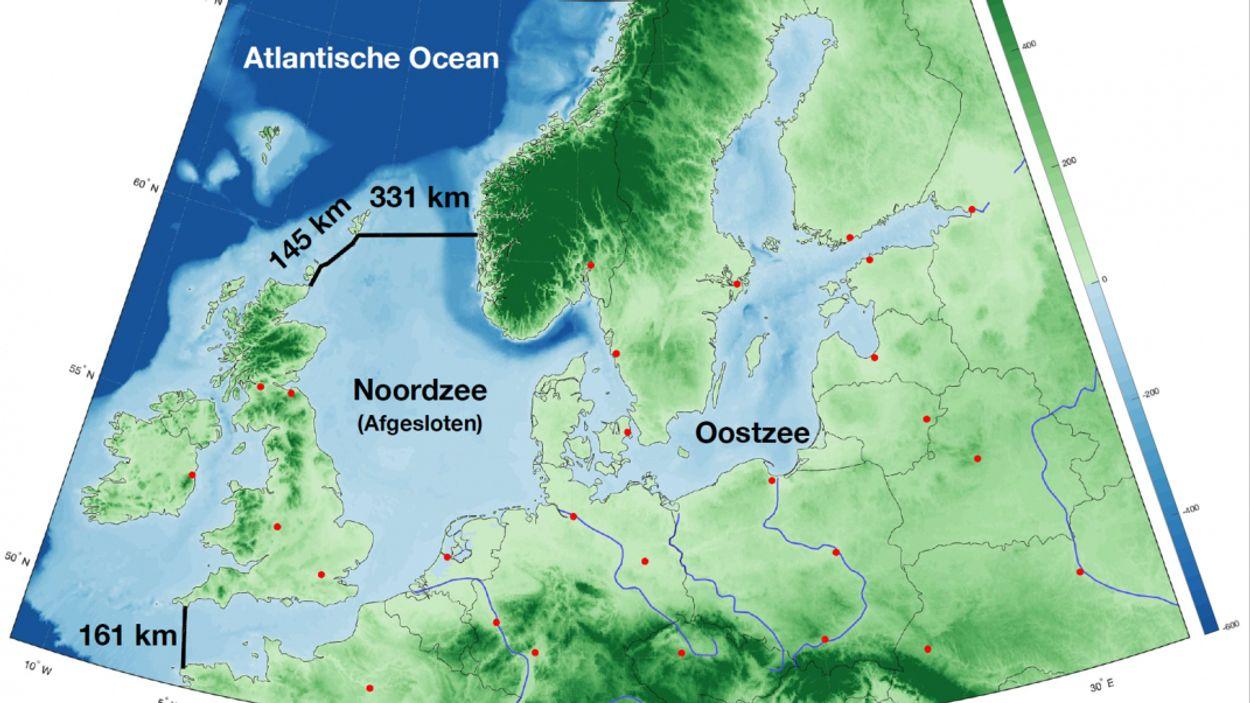 Afbeelding van Gaat deze gigantische afsluitdijk Europa redden van de stijgende zeespiegel?
