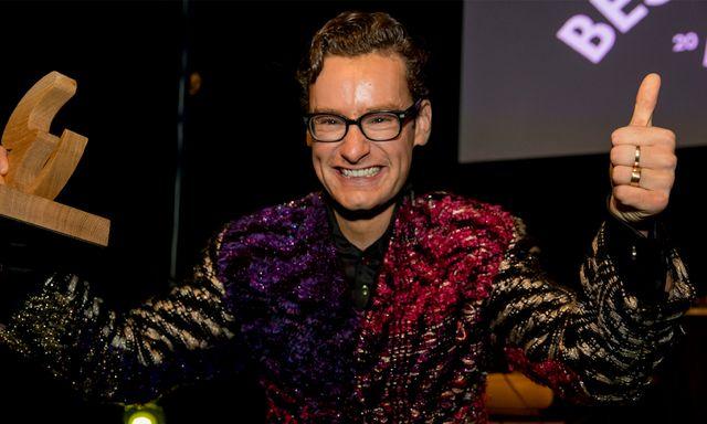 Afbeelding van Splinter is Best geklede man van het jaar!